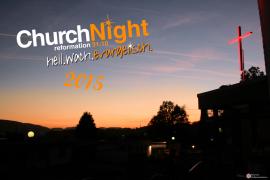 Bild der ChurchNight 2015 im Gemeindezentrum Berge