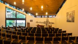 Gottesdienstraum der Gemeinde Berge - Vogelsang