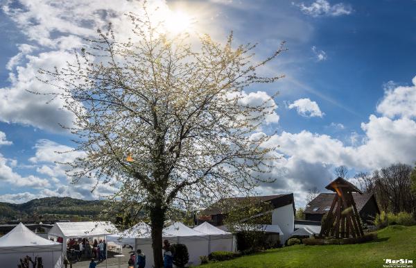 Strahlender Sonnenschein beim Gemeindefest der Ev. Gemeinde Berge - Vogelsang