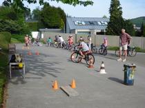 Fahrradturnier in der Jungschar