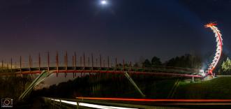 Bild der Drachenbrücke (Halde Hoheward) von Marvin Scheunemann.