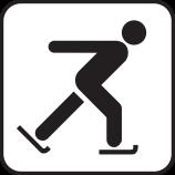 Schlittschuh laufen